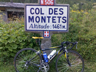 picture of the Col des Montets