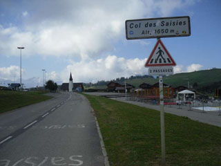 picture of the Col des Saisies
