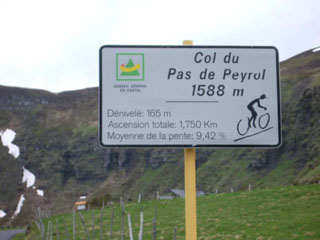 picture of the Pas de Peyrol - Puy Mary