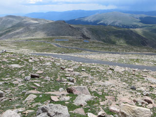 picture of the Mount Evans