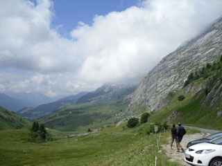 picture of the Col de la colombiere