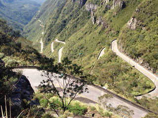 picture of the Serra do Rio do Rastro