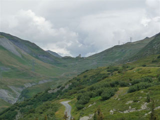 picture of the col du petit saint bernard