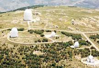 picture of the Calar Alto