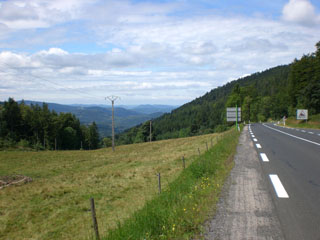 picture of the Col du Bonhomme