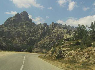 picture of the Col de Bavella