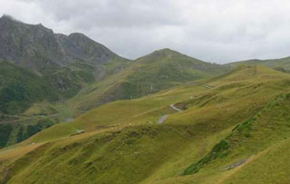 picture of the Col de Portet