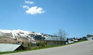 picture of the Col de Saisies