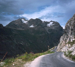 picture of the Col de l'Iseran