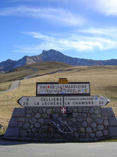 picture of the Col de la Madeleine