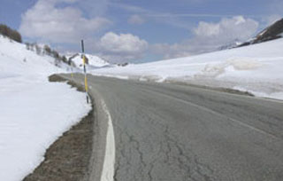 picture of the Col de Larche