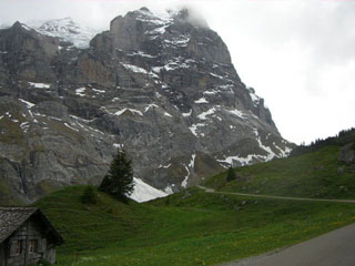 picture of the Grosse Scheidegg