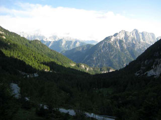 picture of the Passo Vrsic