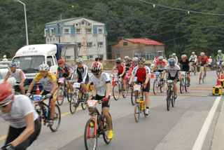 picture of the Daegwalyeong Hill Climb