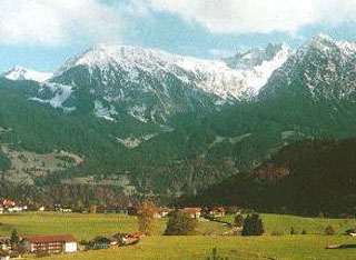 picture of the Nebelhorn