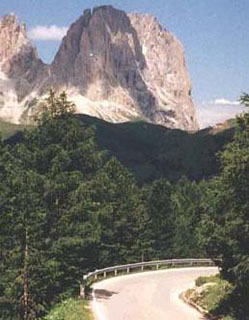 picture of the Passo Pordoi