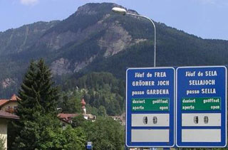 picture of the Passo di Pinei - Panider Sattel