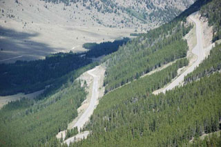 fotos del BearTooth Pass