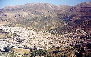 picture of the Sierra de la Pandera