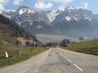 picture of the Col de la Forclaz