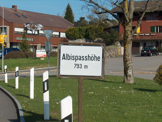 picture of the Albis Pass