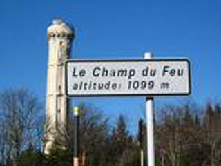 picture of the Le Champ du Feu