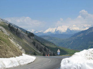 picture of the Col de la Colombi�re