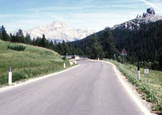 picture of the Passo Falzarego